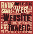 OG web traffic 16 text background wordcloud vector image