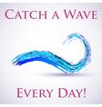 Water wave vector image
