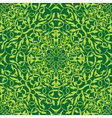 green seamless wallpaper vector image vector image