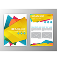 Abstract Background polygon design Business vector image
