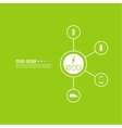 Renewable green energy vector image