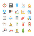 a pack of power and energy icons vector image
