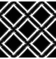 Decorative Grunge White Frame Seamless Pattern vector image