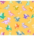 cheerful multi-colored Dinos vector image