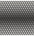 Cross Shapes Halftone Lattice Seamless vector image
