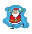 Happy Santa Claus Cartoon collection stock vector image