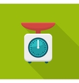 Home kitchen scales vector image