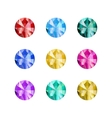 gems collection vector image