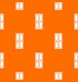 closed wooden door pattern seamless vector image vector image