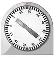 analog timer vector image vector image