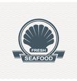 seafood icon set vector image vector image