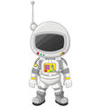 Cartoon Astronaut for you design vector image