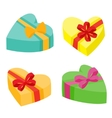 Valentines days presents collection vector