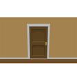 Room door vector image