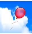 Balloon in the sky vector image