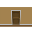 Room door vector image