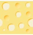 Cheese background seamless vector image vector image