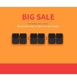 Opening Soon Big Sale Countdown vector image