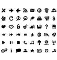 sketch icons vector image vector image