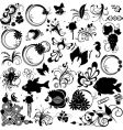 clipart design elements vector image