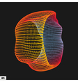 Abstract Polygonal Futuristic Design vector image