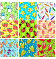Cute patterns vector image