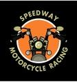 Logo moto club vector image