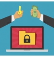 Privacy and security concept vector image