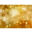glittery gold christmas background vector image vector image