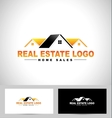 Real Estate Design House vector image