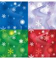 snow seamless222 380 vector image