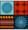 set seamless16 vector image vector image