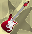 Guitar vector image