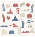 New York seamless pattern vector image vector image