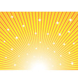 Abstract sunny background vector image vector image