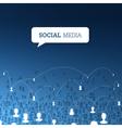 social concept design vector image