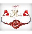 greeting card for indian festive sisters and vector image vector image