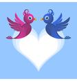 bird lovers vector image vector image