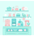 Home appliances and utensils vector image