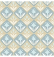Vintage decorative seamless pattern with floral vector image
