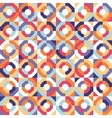 Abstract seamless geometric patterns vector image vector image