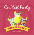 party background with different vector image