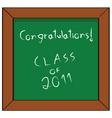 congratulations class of 2011 vector image vector image