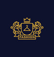 coat of arms fashion vector image