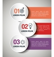 infographic templates business design vector image