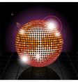 Disco ball Background vector image vector image