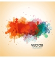 paint splat background vector image