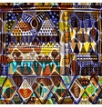 Bright seamless pattern Ethnic border abstract vector image