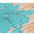 Storm depression chart vector image