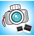 Camera and photos vector image